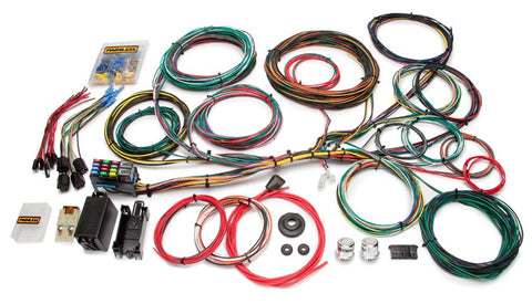 10123 - Customizable Ford Color Coded Chassis Harness - 21 Circuits