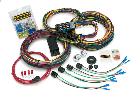 10127 - Customizable Mopar Color Coded Chassis Harness - 21 Circuits