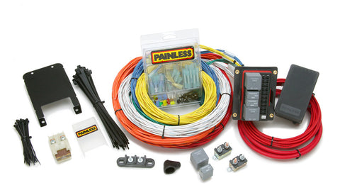 race & off road painless performance universal automotive wiring harness 10144 customizable extreme off road harness 15 circuits