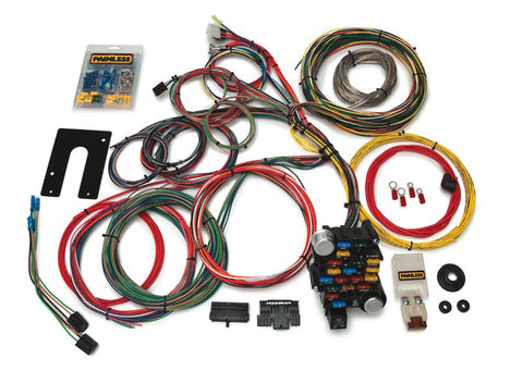 10201 - Classic-Plus Customizable Chassis Harness -GM Keyed Column - 28 Circuits