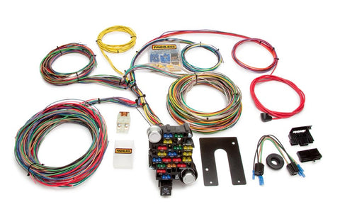 10202 - Classic-Plus Customizable Chassis Harness - Key In Dash - 28 Circuits