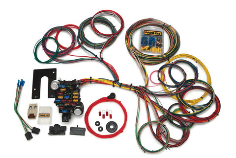 10204 - Classic-Plus Customizable Pickup Chassis Harness - Key In Dash - 28 Circuits