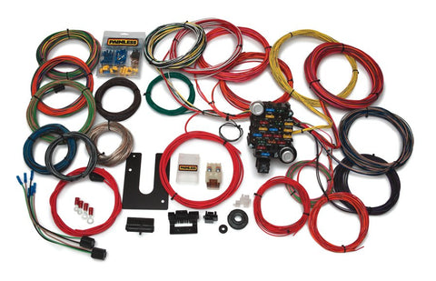 10220 - Classic-Plus Customizable Trunk Mount Chassis Harness - 28 Circuits
