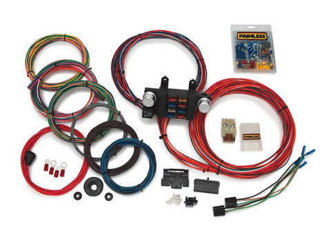 10307 - Basic Customizable Chassis Harness w/extra length wires - 18 Circuits