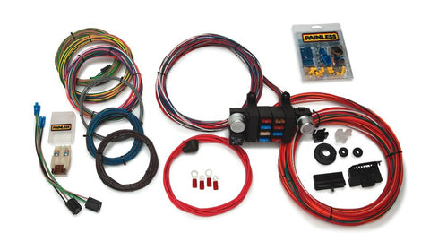 10308 - Basic Customizable Chassis Harness - 18 Circuits