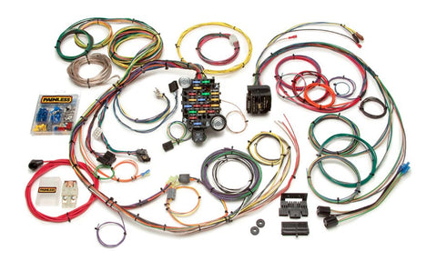 20101 - Classic-Plus Customizable 1967-68 Camaro/Firebird Harness - 24 Circuits