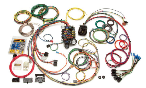 20102 - Classic-Plus Customizable 1969-74 GM Muscle Car Chassis Harness - 25 Circuits