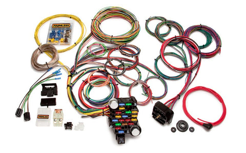 20104 - Classic-Plus Customizable Muscle Car Harness - 28 Circuits