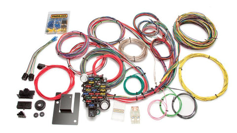 20106 - Customizable Classic-Plus Tri-Five Chevy Chassis Harness - 28 Circuits