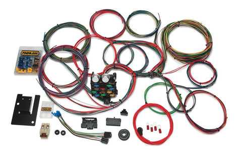 20107 - Customizable Classic Tri-Five Chevy Chassis Harness - 21 Circuits