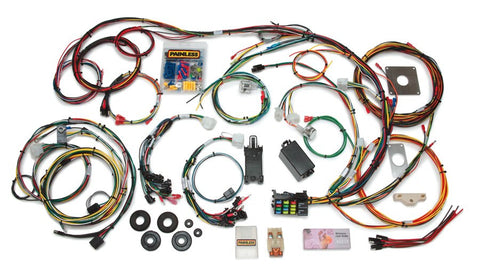 20120 - Direct Fit Mustang Chassis Harness (1965-1966) - 22 Circuits
