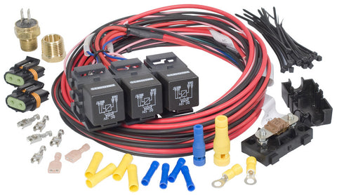 30116 - Dual Activation/Dual Fan Relay Kit (on 195, off 185)
