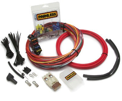 race & off road painless performance painless wiring fuse block 30830 csi universal engine harness