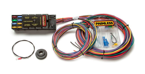 50001 - Race Only Chassis Harness - 10 Circuits