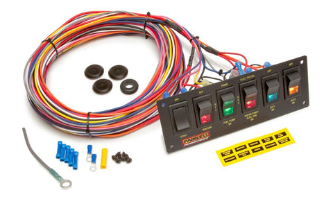 switch panels painless performance rh buypainless com 2 Position Toggle Switch Wiring Two Pole Toggle Switch Wiring