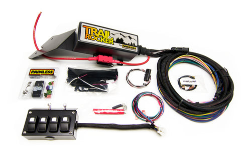 57021 - Trail Rocker System Jeep Wrangler CJ 1976-86 w/Underdash 4 Switch