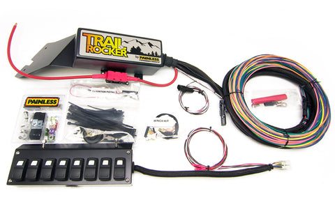 57023 - Trail Rocker System Jeep Wrangler CJ 1976-86 w/Underdash 8 Switch