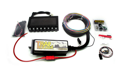 57040 - Trail Rocker System Jeep Wrangler TJ 1997-06 w/Dash Mounted Panel