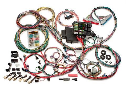 60608 - 1997-2004 GM LS1/LS6 Integrated EFI & Chassis Harness - Mechanical TB