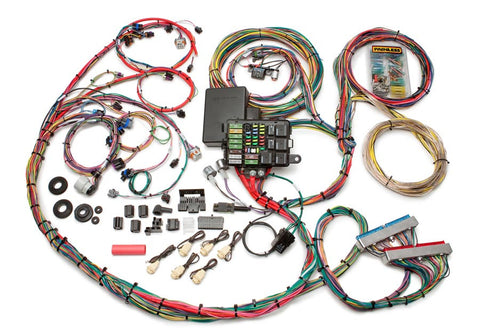 60617 - 1999-2006 GM Gen III 4.8/5.3/6.0L Integrated EFI & Chassis Harness - Mech. TB
