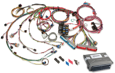 60714 - 1999-2006 GM Gen III 4.8/5.3/6.0L EFI Harness - Mech TB (60217 w/ VATS Removed ECM)