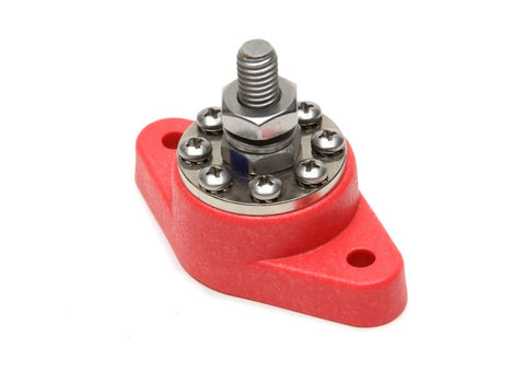 80114 - 8-Point Distribution Block (Red)