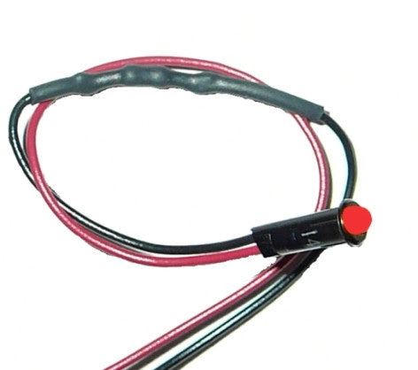 "80201 - 1/8"" LED Dash Indicator Light/Red"