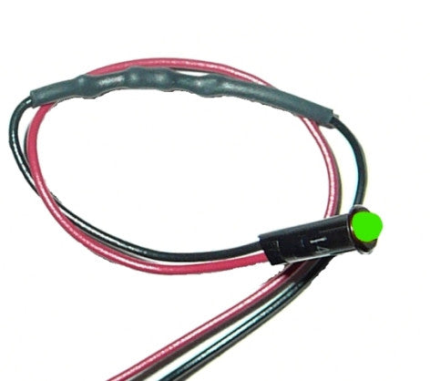 "80202 - 1/8"" LED Dash Indicator Light/Green"