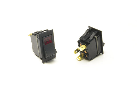 80401 - Rocker Switch/On-Off/Red Lighted