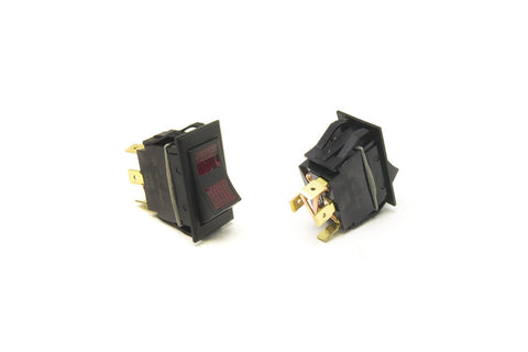 80403 - Rocker Switch/On-Off-On/Red Lighted
