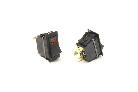 80404 - Rocker Switch/On-Off/Amber Lighted