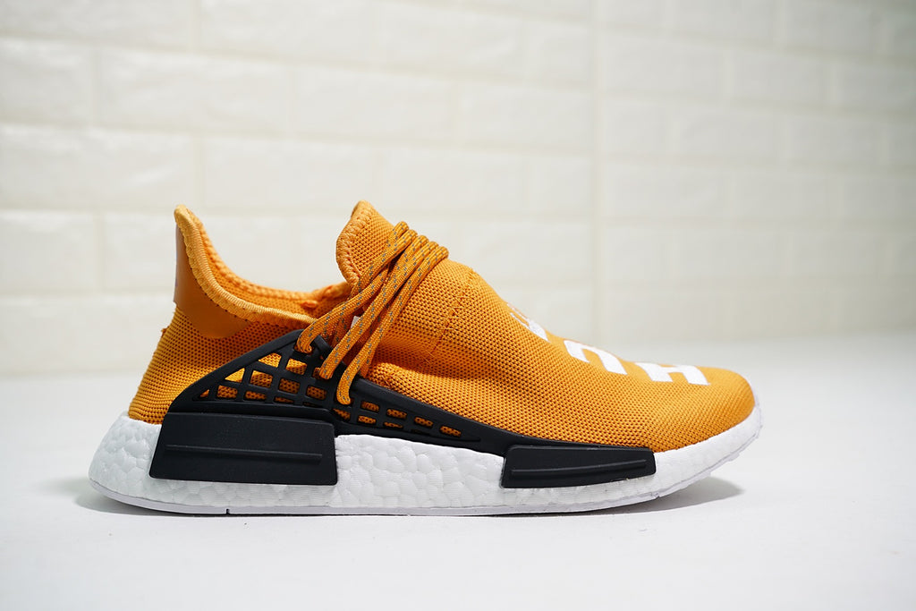 Pharrell x Adidas NMD Human Race Trail 'HUE MAN' | Orange