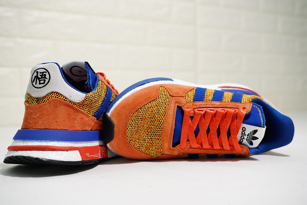 new style 1f86c b8891 Dragon Ball Z x Adidas ZX500 RM Boost
