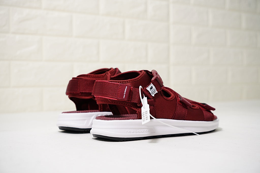"NEW BALANCE SD750 Sandals ""Velvet Red"""