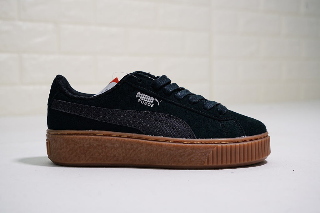 "Puma Suede Platform Animal ""Black"""