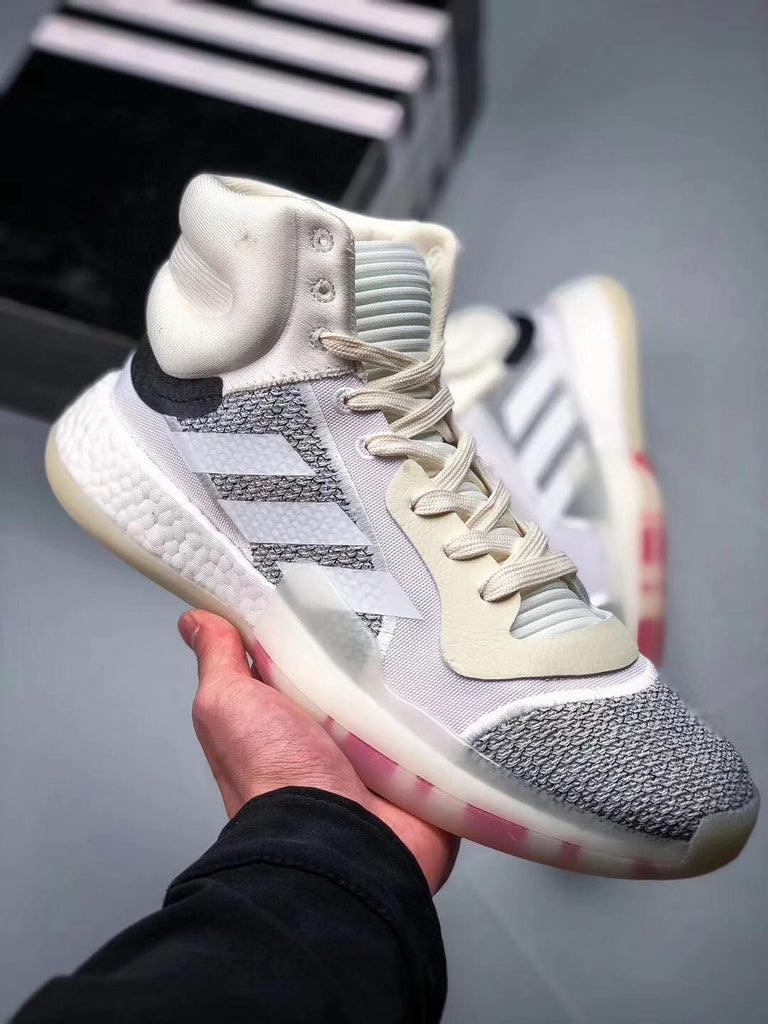 "Adidas Marquee Boost ""White/Grey"""