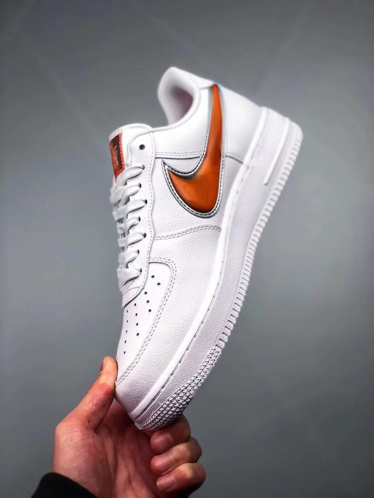 "Nike Air Force 1 '07 LV8 ""White/Infrared 23"""