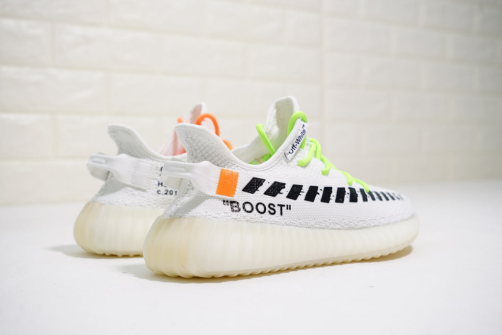 "Off White x Adidas Yeezy Boost 350 V2 ""White"""