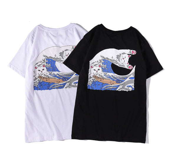 RIPNDIP The Great Wave Of Nerm T-Shirt #190331004