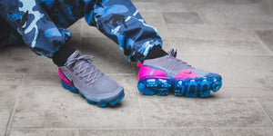 "Nike Air VaporMax Flyknit 2.0 ""Gunsmoke / Blue Orbit"""