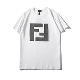 Fendi Embroidered FF Logo T-Shirt #190409001