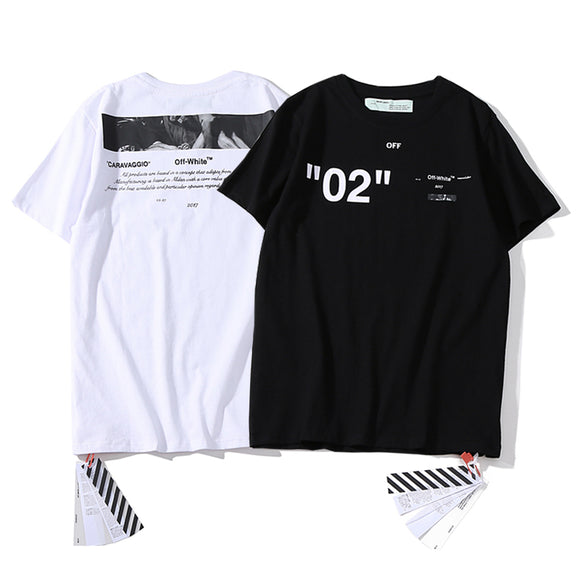 Off-White 'For All' 02 Caravaggio T-Shirt #190225009