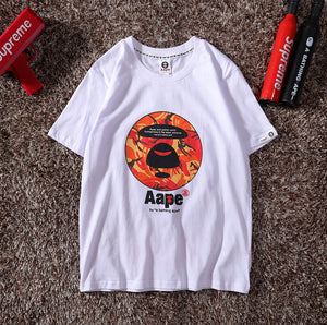 AAPE by A Bathing Ape Camo Aape Emblem T-Shirt #190415036