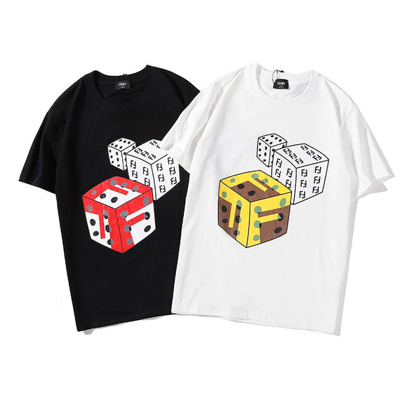 Fendi Dice Print T-Shirt #190409009