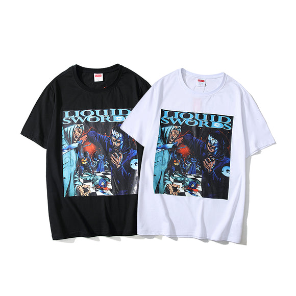 Supreme Liquid Swords T-Shirt #190324005