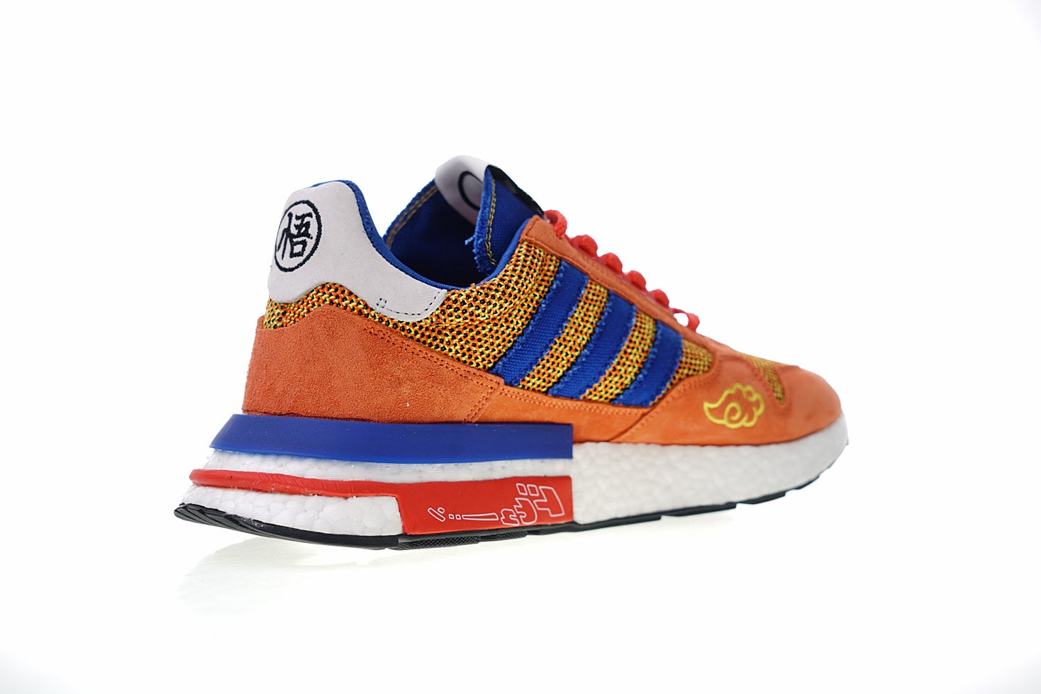 new style b548f 6bfd8 Dragon Ball Z x Adidas ZX500 RM Boost