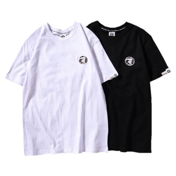 AAPE by A Bathing Ape Logo Patch T-Shirt #190505040