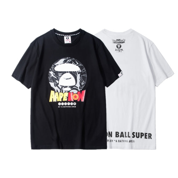 AAPE by A Bathing Ape x 'Dragon Ball Super: Broly' Camo Ape Face T-Shirt #190320025