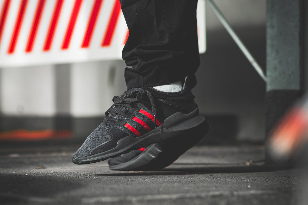 on sale 058f3 2a466 Gucci x Adidas EQT Support ADV (Black/Red) – SPIRIT95 STATION