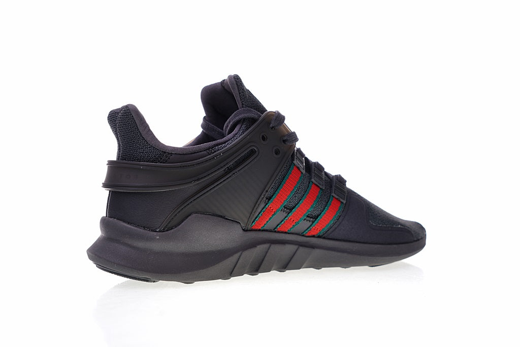 sale retailer 9d607 2aebe Gucci x Adidas EQT Support ADV (Black/Red)